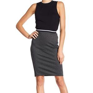 Joe fresh jersey jacquard pencil skirt